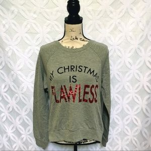 My Christmas is Flawless French Terry Tee
